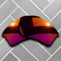 Polarized Magenta Red 8Mirrored Replacement Lenses for-Oakley Half Jacket 2.0 XL