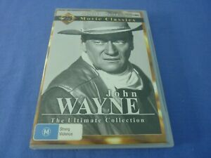 John Wayne The Ultimate Collection DVD 25 Movie Collection 4-Disc Region 0