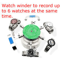 Steel Automatic Watch Winder Left Right Rotation Watch Repair Tool-6Watches