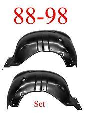 88 98 Chevy Inner Fender Set, Front, GMC Truck, Suburban, Tahoe, Yukon, Blazer