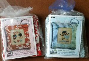 Pine Mountain Pillow Kit January February 2014 Winter Valentine Cross Stitch