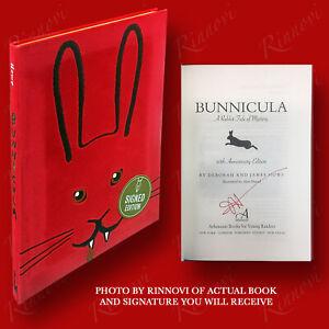 Bunnicula SIGNED James Howe (2019,SC,40th ANNIV ED/1st) BRAND NEW