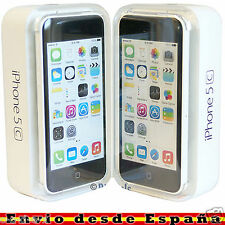 Telefono Movil Original Apple iPhone 5c 16GB Blanco Libre IMPOLUTO / OUTLET