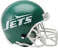 Riddell NY Jets Throwback 1978 - 1989 VSR4 Mini Football Helmet - Fanatics