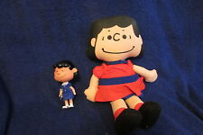 Two Vintage Lucy Dolls - Peanuts Gang