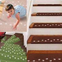 1 Kinder Nachtleuchtend Stufenmatten Treppenschutz Matte Treppenteppich Fußspur
