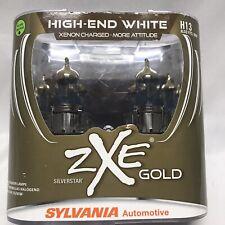 Sylvania Silverstar ZXE GOLD H13 Pair Set Headlight Bulbs Xenon Fueled NEW