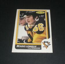 1986-87 OPC PITTSBURGH PENGUINS MARIO LEMIEUX HOCKEY CARD -  No.122
