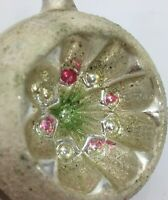 Vintage style hand made hot dipped tin Christmas ornament 6 point star.