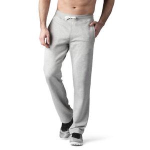 "34"" 36"" 38"" LEG EXTRA LONG GREY Jogging Joggers Gym Bottoms Mens Big & Tall"