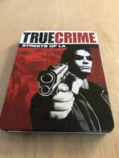 True Crime: Streets of LA Sony PlayStation 2 PS2 Limited Collectors Tin Edition
