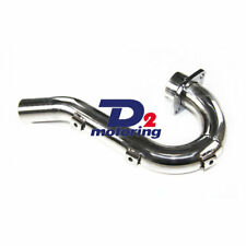Stainless Exhaust Head Header Pipe For Yamaha YZ250F YZF250 2001-2003