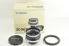 *Excellent* Voigtlander SC Skopar 21mm f/4 Lens for Nikon S from Japan #1442