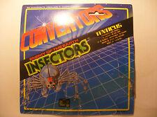 Transformers robot CONVERTORS ORIGINAL Empty Card Blister INSECTORS TENTICUS