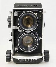MAMIYA C220 PROFESSIONAL WITH OB. MAMIYA SEKOR 80mm F/2,8