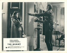 THE MUMMY ORIGINAL HAMMER HORROR LOBBY CARD CHRISTOPHER LEE YVONNE FURNEAUX