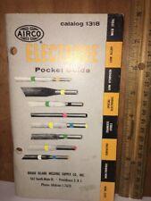 Airco Electrode Pocket Guide Catalog 1318.