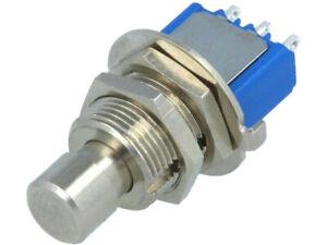 8632A5X933 Interruptor: Pulsador; Posiciones: 2; Spdt ; 3A / 250VAC; 4A / 30VDC;