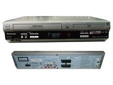 Panasonic Multi Region Free NV-VP33 DVD Player VCR VHS EXT CCTV Recorder Combi
