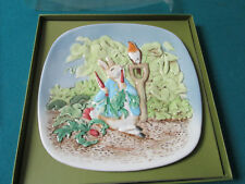 Scenes From Beatrix Potter Collector Plate Nib 7 1/2""