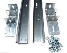 """Garage Door Track For 8' High Door - Pair of Vertical Sections 88"""" in Length"""