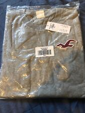 Hollister Grey T Shirt Small Rrp £29 Crew Neck
