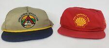 Vintage CSX Railroad Hats Snapback  Pair