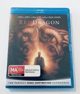 Red Dragon Blu Ray NEW & SEALED** Rated MA15+ Movie 🍿 Region B Hopkins Norton