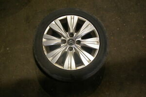 (126573A) Citroen C3 Picasso Wheel alloy wheel with tyre 195 55 16 BALD tyre