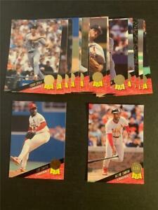 1993 Leaf St. Louis Cardinals Team Set 17 Cards