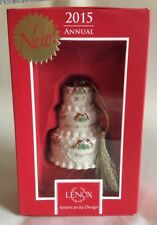 Lenox 2015 Our 1st Christmas Together Ornament Wedding Cake Anniversary Gift New 00004000