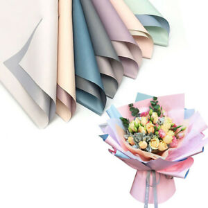 20PCS Gifts Packing Flower Wrapping Paper Packaging Duplex Paper Wedding Hot
