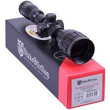 Nikko MOUNTMASTER 3-9x50 Illuminated PX AO Zoom Rifle SCOPE Sight + 11mm Mounts