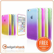 Ultra Slim Thin Soft Gel Rubber Silicone Case Cover For iPhone 5 5s 6 6s Plus