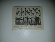 Atlanta Crackers 1914 Team Picture Amby McConnell Joe Dunn Harry Welchonce