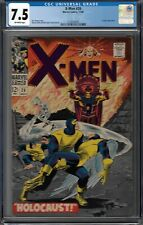 CGC 7.5 X-MEN #26 EL TIGRE APPEARANCE OW PAGES 1966 ROY THOMAS STORY