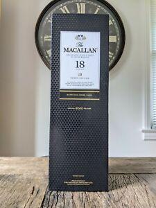Macallan 18 Sherry Oak Empty Box Only.