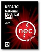 NFPA 70 National Electrical Code NEC 2020 Paperback Soft bound---Quick Delivery