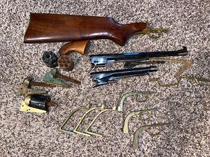 Huge Lot of Blackpowder Gun Parts Gunsmith Pietta Connecticut Valley