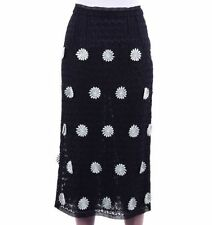 Regular Size Floral Below Knee Straight, Pencil Skirts for Women
