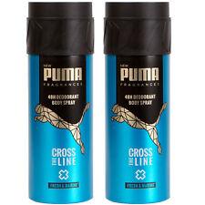 2 x Puma 48H Deodorant Spray Body Spray cross the Line 150 Ml New