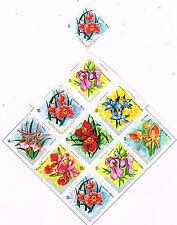 Burundi African Flora Fowers Plants stamps 1972