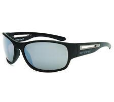 Stone by BLOC Sunglasses Monaco Black & Grey Lens 57190