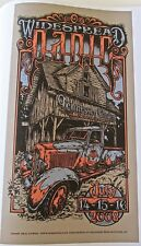 Widespread Panic Mini Concert Poster Reprint  for 2008 Knoxville TN Gig 14x10