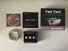 - audio Fast Track Usb M interfaz (excelente Estado)