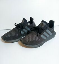 New listing ADIDAS ORTHOLITE Originals Swift Run Men's Black Tennis Slip On Shoes Size US 5