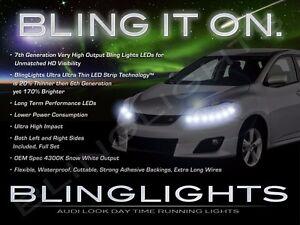 LED DRL Head Light Strips Daytime Running Lamps for Toyota Matrix & Pontiac Vibe