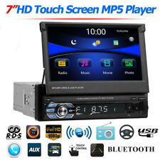 SWM 7'' Single 1Din Car HD Touch Screen Stereo MP5 DVR Player RDS AM FM Radio BT