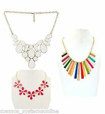 Cosmos Fashionable Metallic Jewellery Necklace For Girls/Women Combo of 3