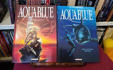 Lot BD - Aquablue 1 2 3 4 / EO / CAILLETEAU & VATINE / DELCOURT